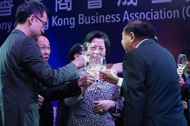 HKBAC celebrated its official inauguration on June 27 at Topaz restaurant.